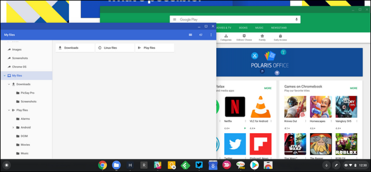 Google Keeps Pushing ChromeOS and Android Closer Together