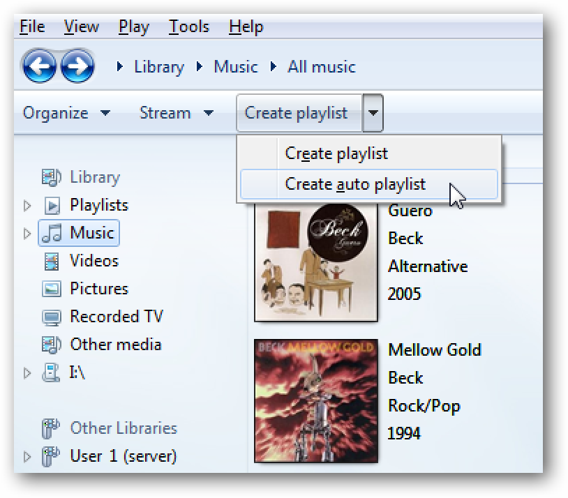how to use windows media player 12