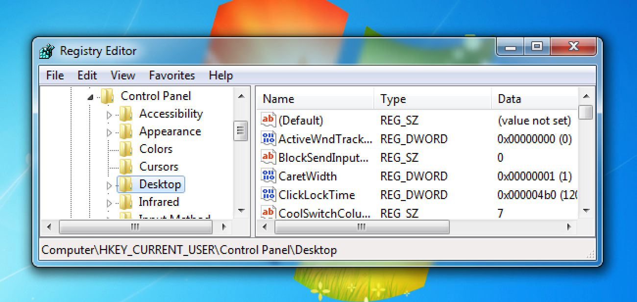 How to Backup and Restore the Windows Registry