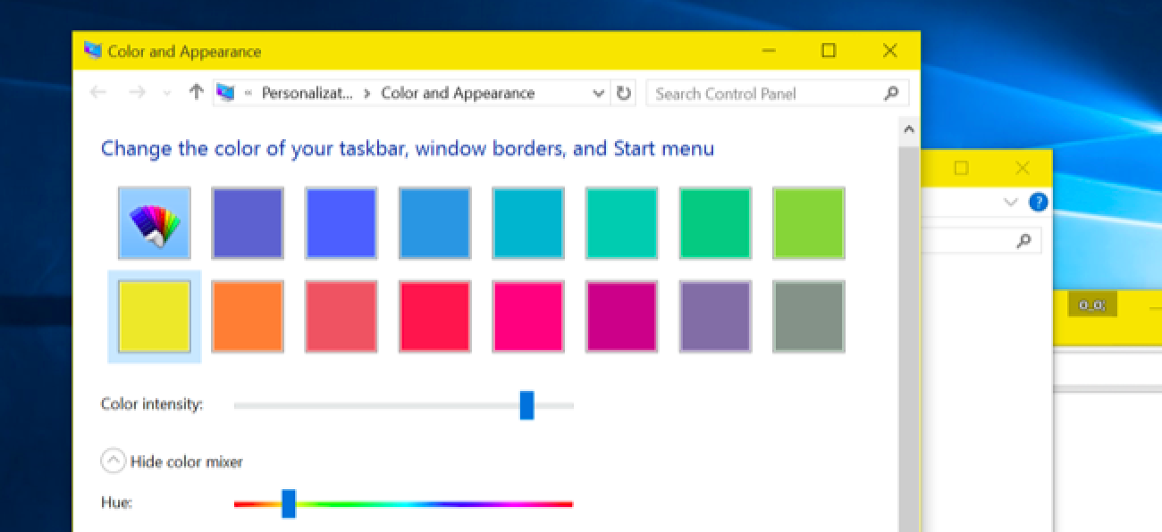 How To Get Colored Window Title Bars On Windows 10 Instead Of White