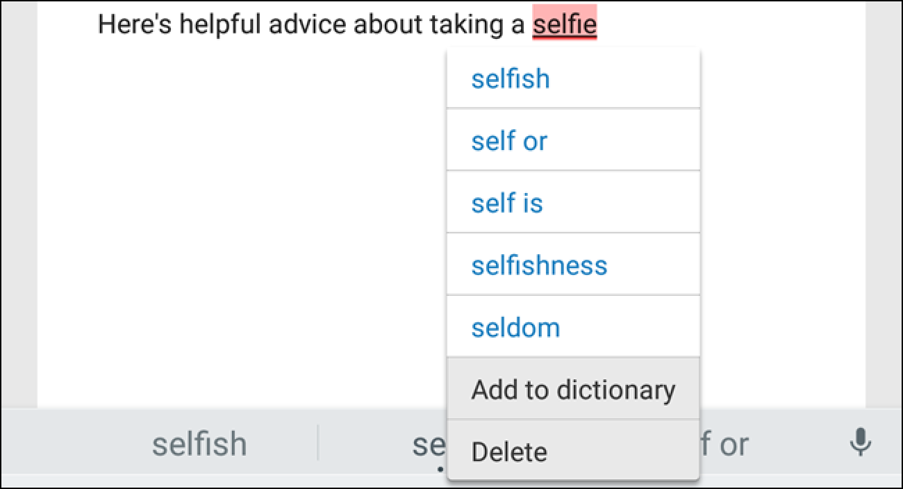 add words to iphone dictionary how to add a word or phrase to android s autocorrect 3923