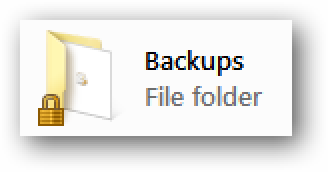 Remove the Lock Icon from a Folder in Windows 7, 8, or 10