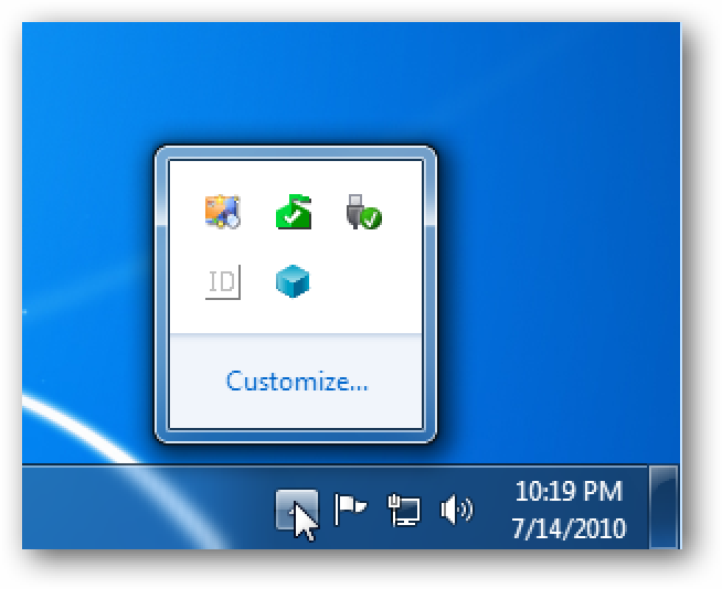 Beginner: Make Frequently Used Icons Show in the Windows 7