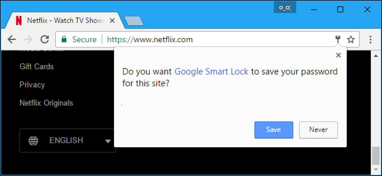 How to Make Your Web Browser Stop Asking You to Save Passwords