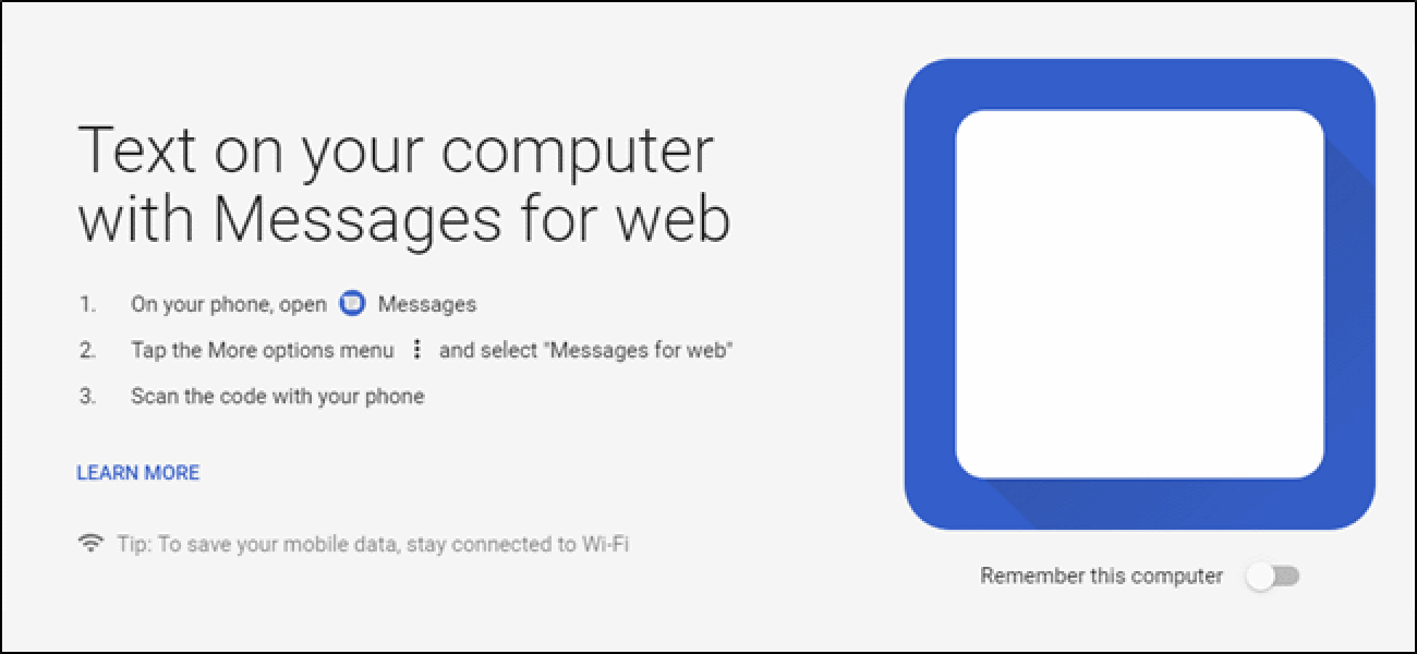 Messages Web