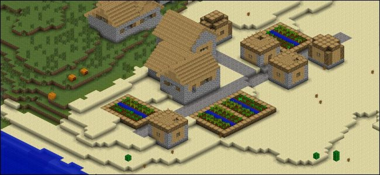How to Render Your Minecraft Worlds Google Earth-style with