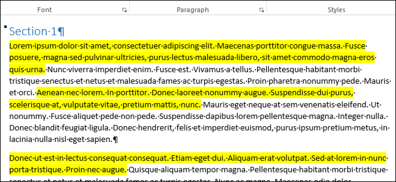 How to Collect Multiple Highlighted Text Selections into One