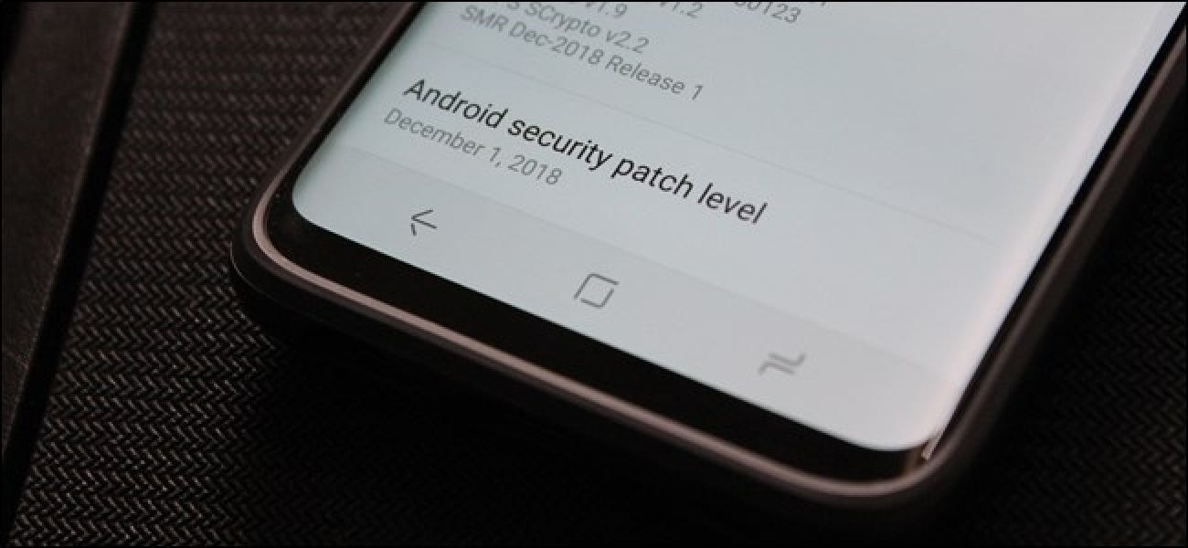 Android's Real Security Problem is the Manufacturers
