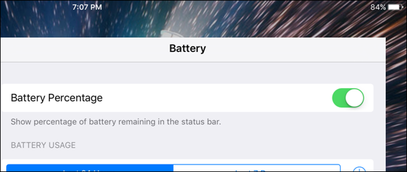 how to turn on battery percentage on iphone 5