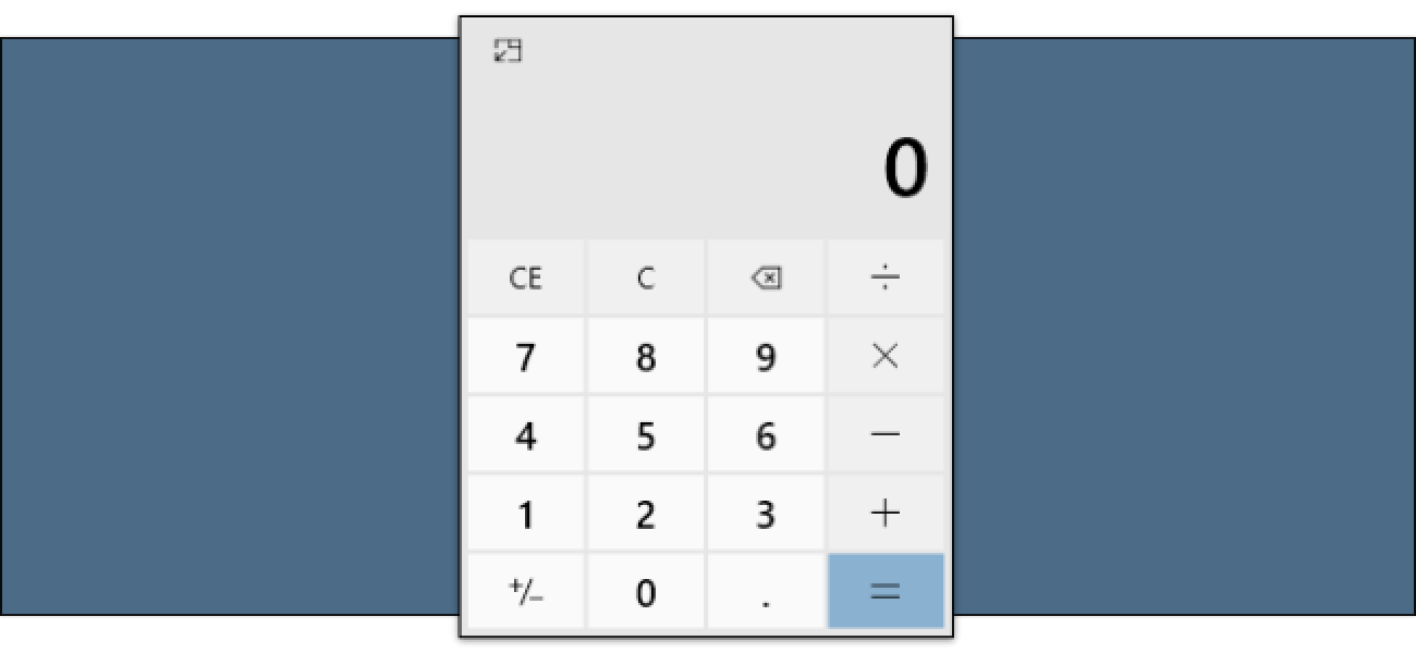 How to Keep the Calculator Always-on-Top on Windows 10
