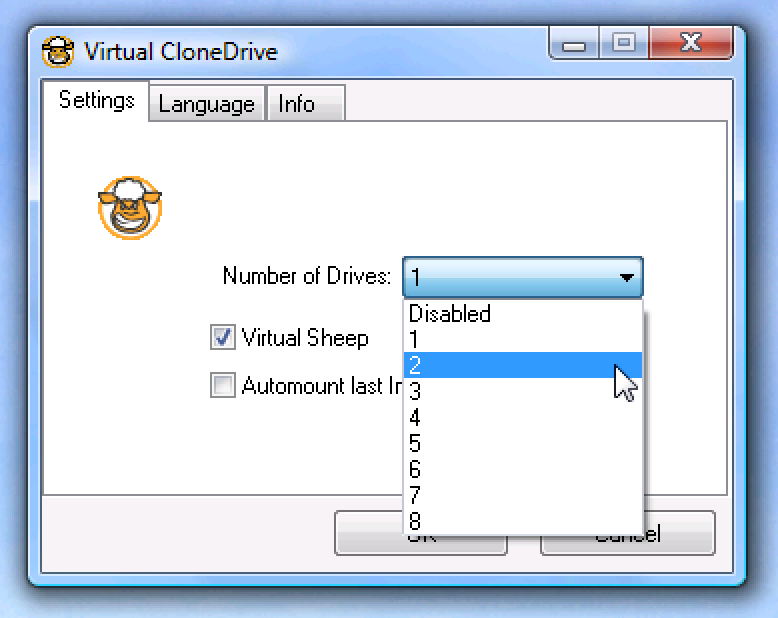 Mount Multiple ISO Images Using Virtual CloneDrive