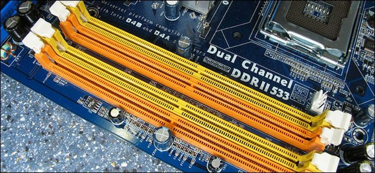 What Does the RAM Slot Color Coding on Motherboards Mean?