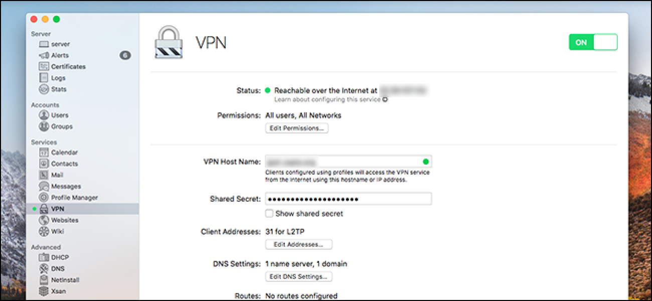 How to Build Your Own VPN with the $20 macOS Server