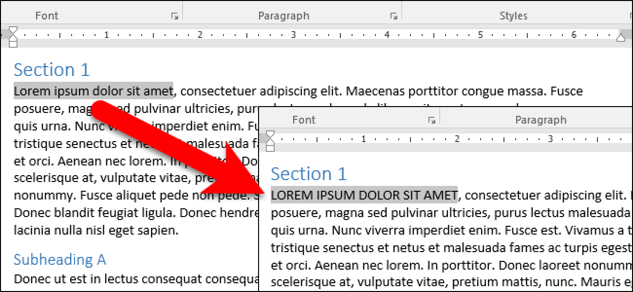 How To Easily Change The Case On Text In Microsoft Word