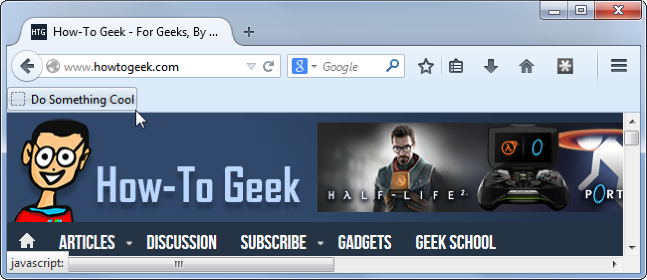 Beginner Geek: How to Use Bookmarklets on Any Device