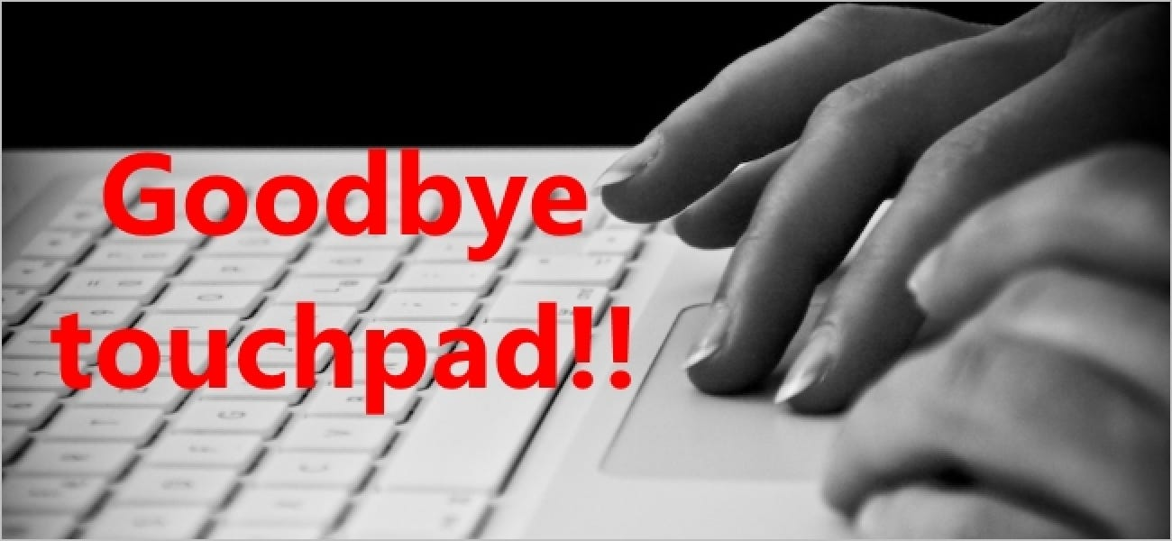 How Do You Permanently Disable The Touchpad On A Laptop?