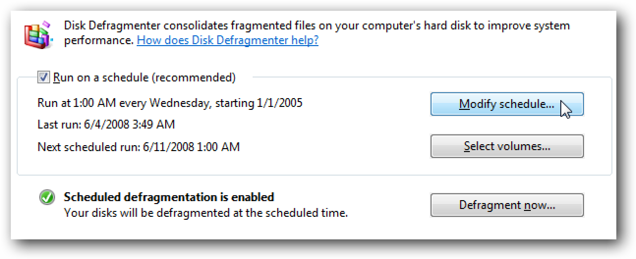 How to Defrag a Drive in Windows 10 Optimizing your PC's internal disk drive is a very important process which improves your PC's performance. Luckily, Windows includes a number of tools to perform to this important process.