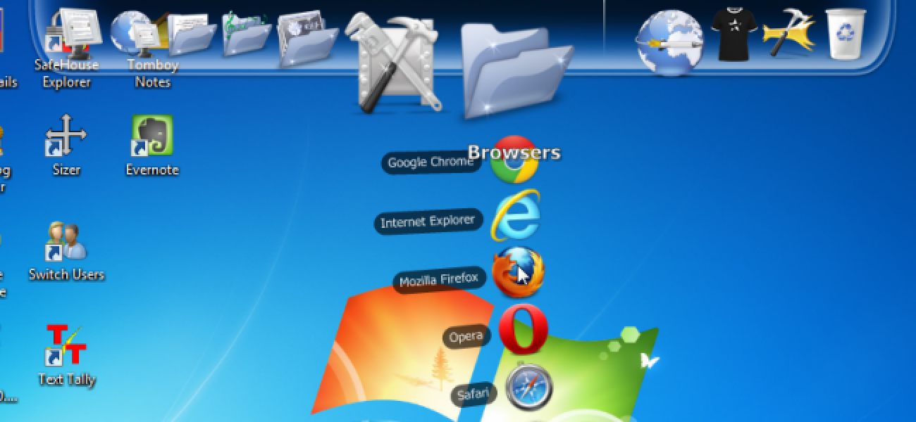 Add a Customizable, Free Application Launcher to your ...