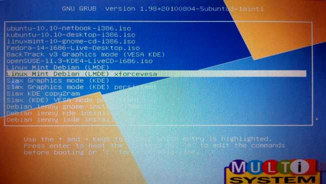 How To Boot 10 Different Live CDs From 1 USB Flash Drive