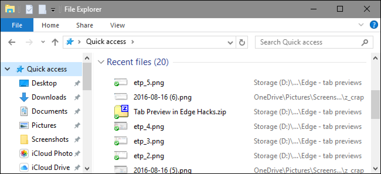 how to clear your file explorer  u201crecent files u201d history in