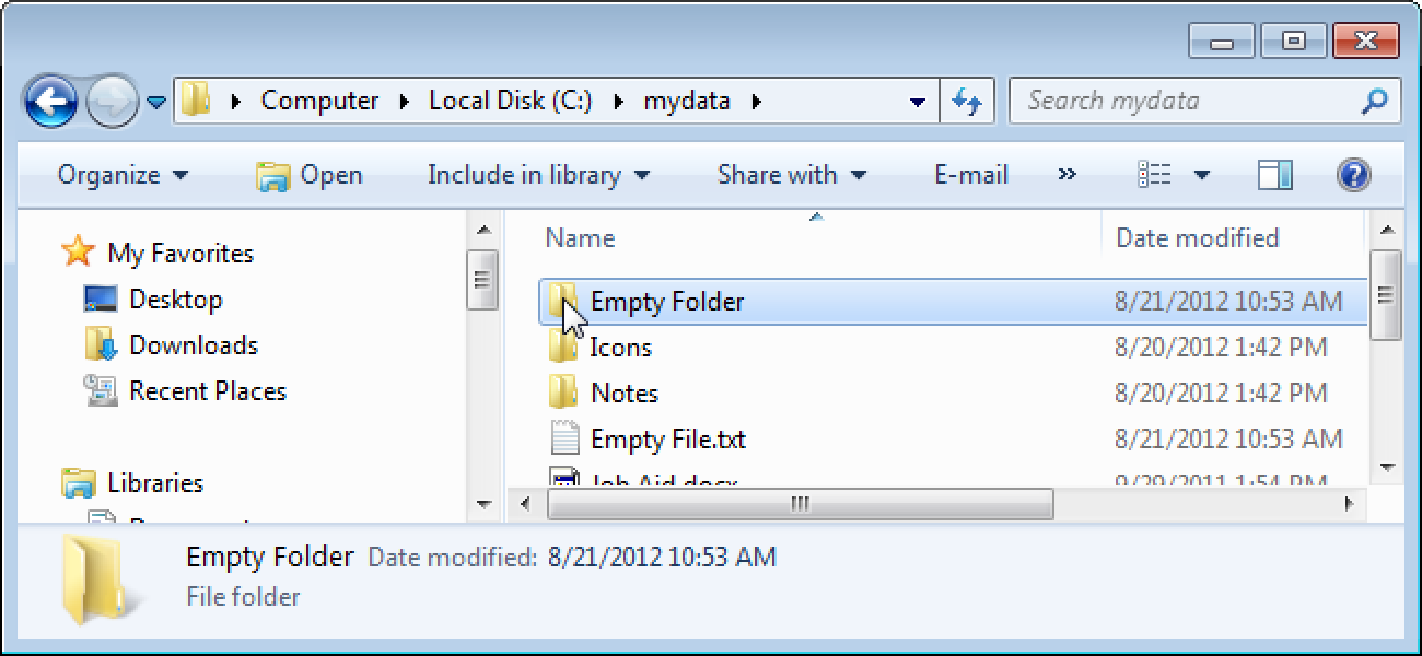 Automatically Clean Out and Remove Empty Files and Folders