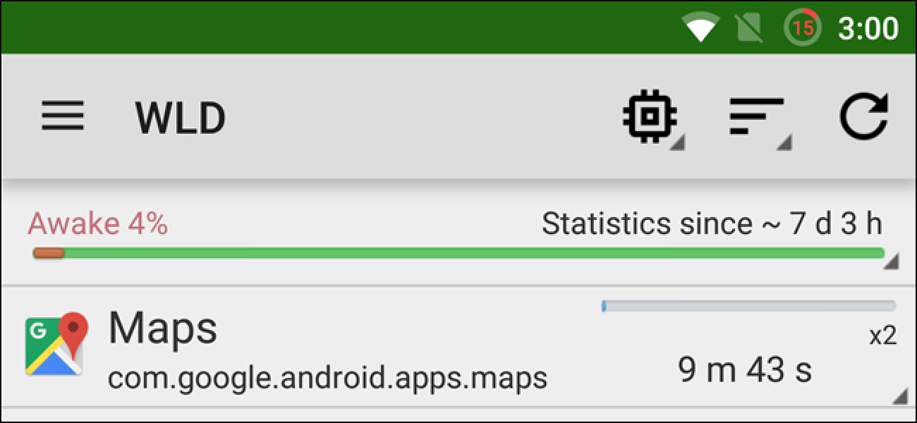 Find Out Which Apps are Keeping Your Android Awake With