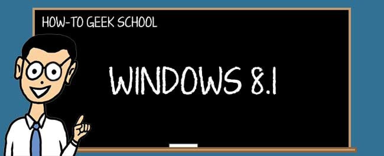 Windows 8 1: Working with PC Settings