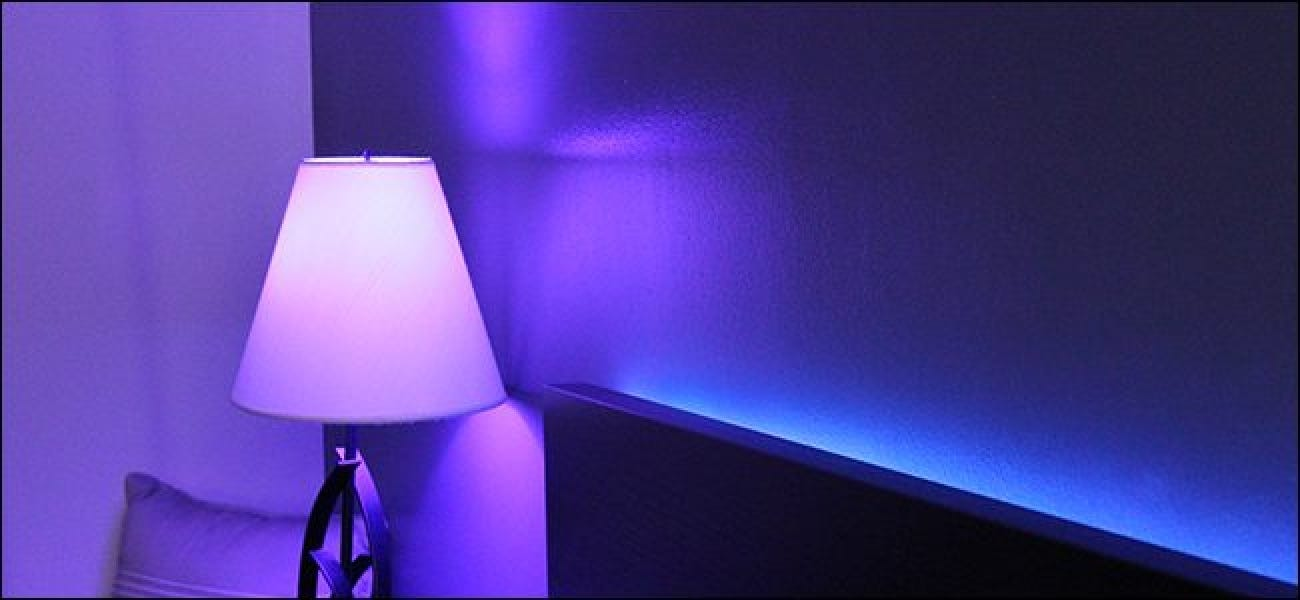 How To Change The Color Of An Entire Room With Philips Hue
