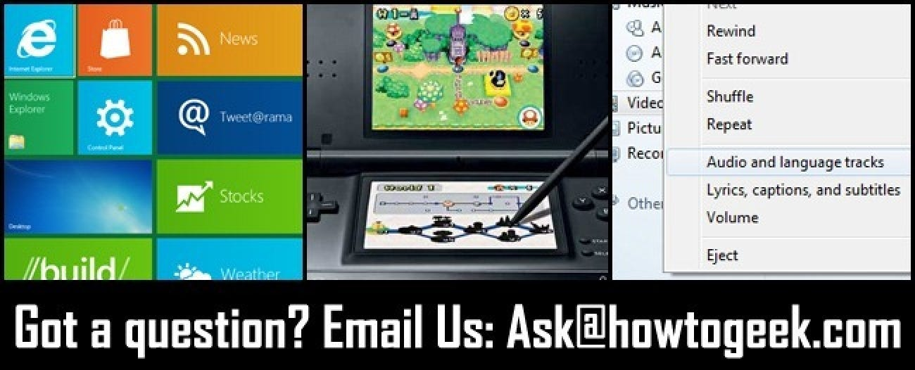 Ask HTG: Dealing with Windows 8 CP Expiry, Nintendo DS Save
