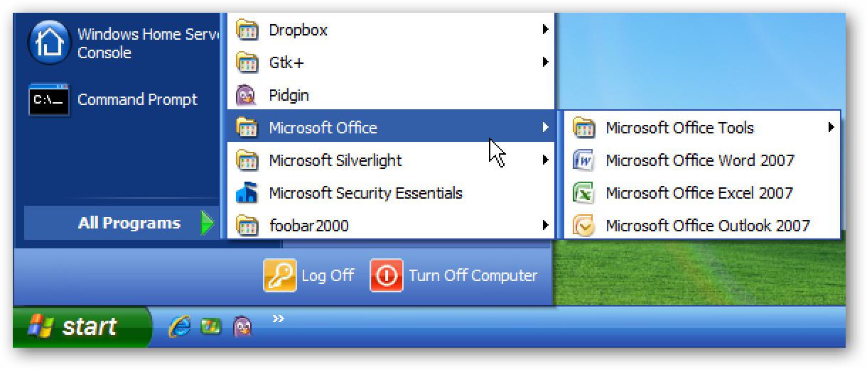 "Show the Classic ""All Programs"" Menu in the Start Menu in Windows 7"