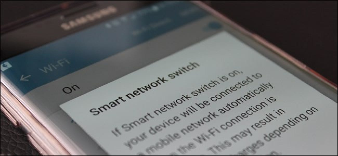 "How to Disable Samsung's ""Smart Network Switch"" to Avoid Too"