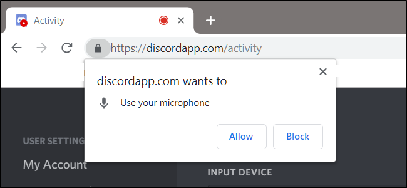 How to Change a Site's Camera and Microphone Permissions in Chrome