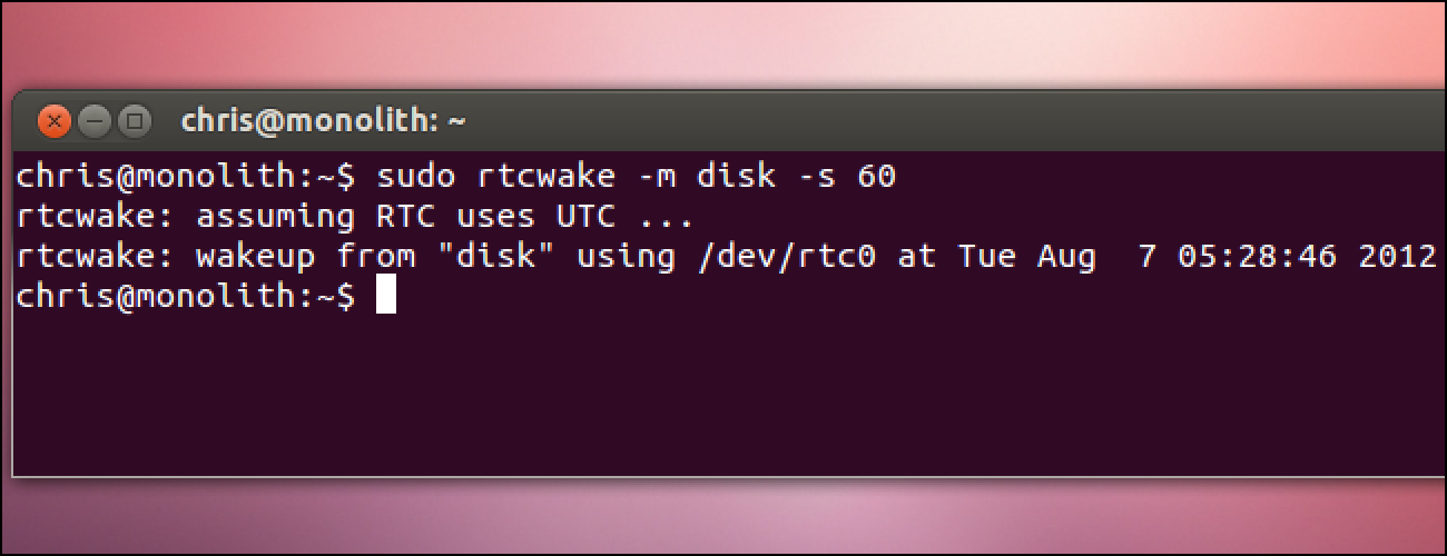 How to Make Your Linux PC Wake From Sleep Automatically