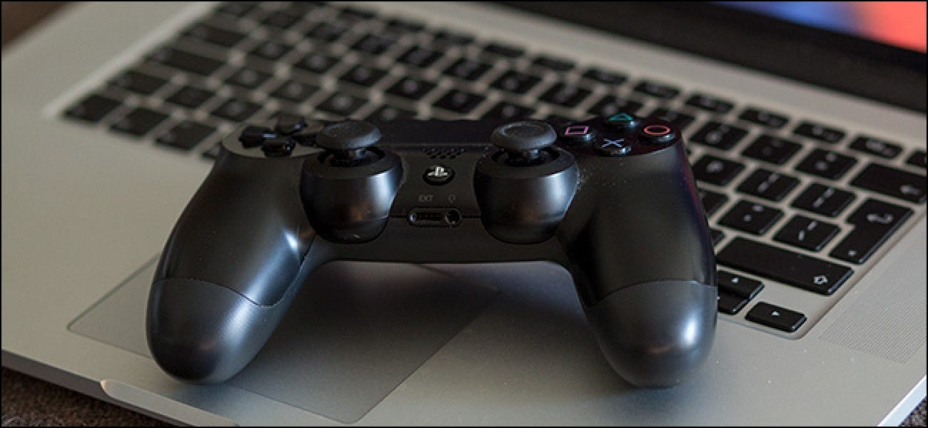 How To Use The Playstation 4 S Dualshock 4 Controller On A Mac