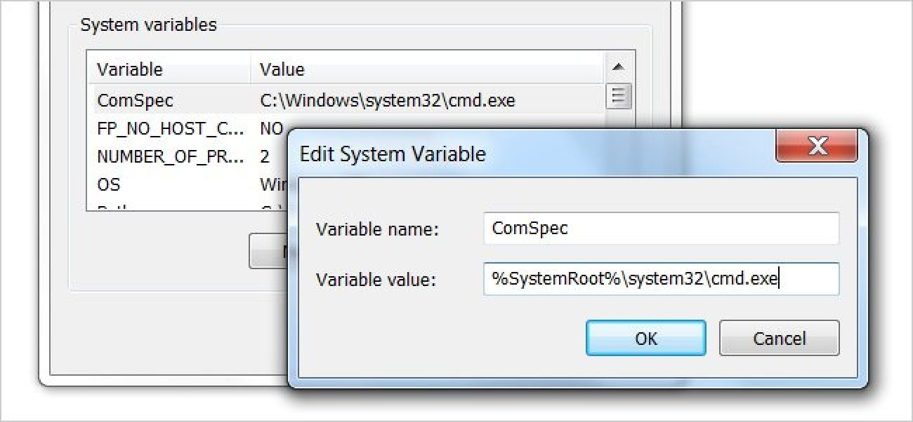 How to Use Global System Environment Variables in Windows