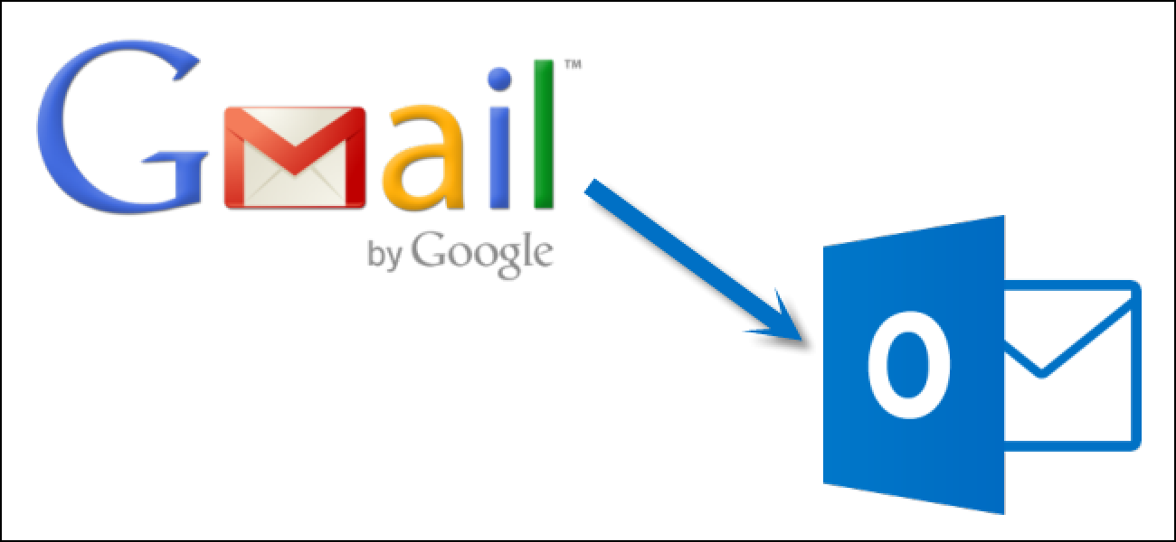 gmail email settings for outlook 2013