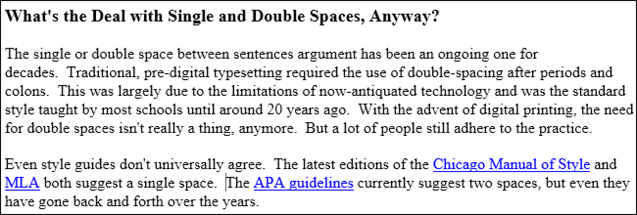 how to find and replace double spaces in word