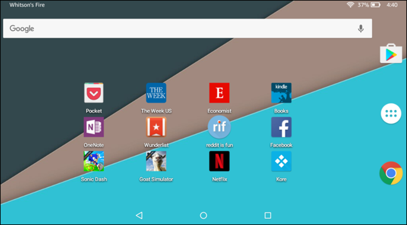 How to Use a Different Home Screen Launcher on the Amazon