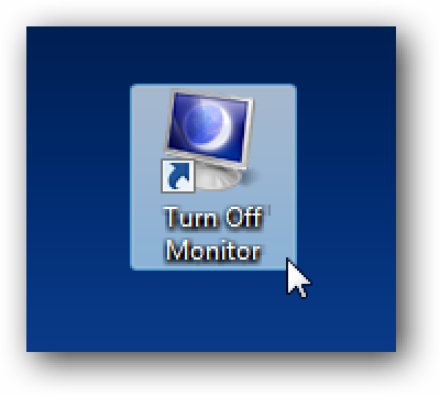 Create a Shortcut or Hotkey to Turn Off the Monitor