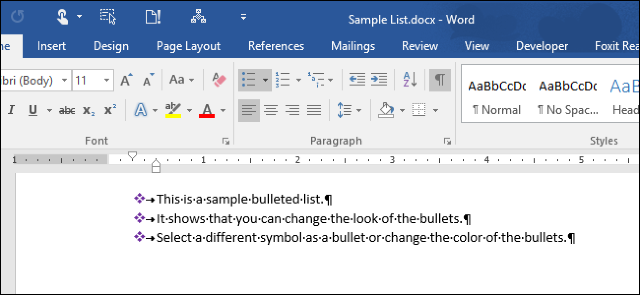 How To Customize The Bullets In A Bulleted List In Word