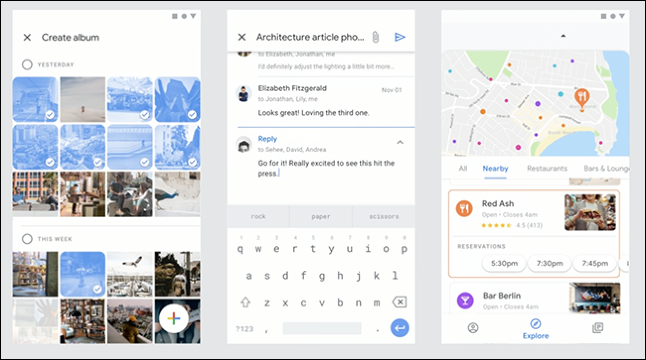 Here's How Gmail, Calendar, And Other Google Apps Might Look