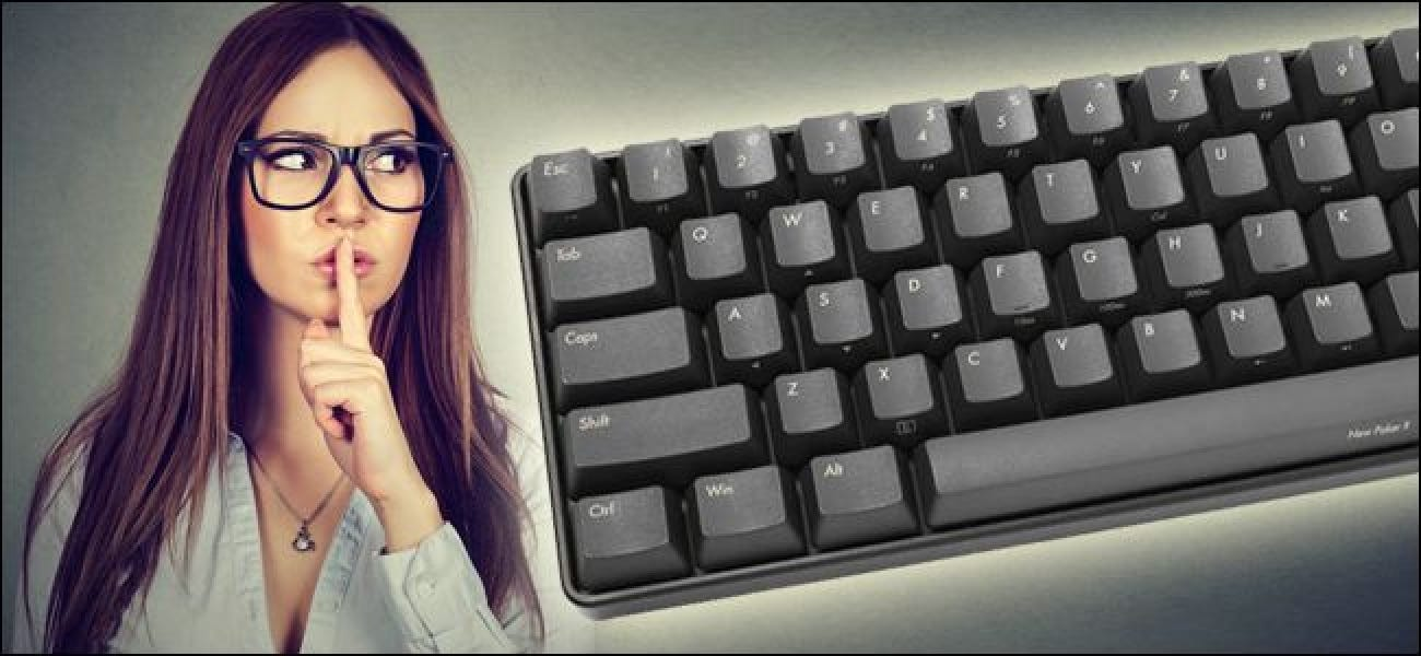 """How To """"Silence"""" Your Noisy Mechanical Keyboard"""