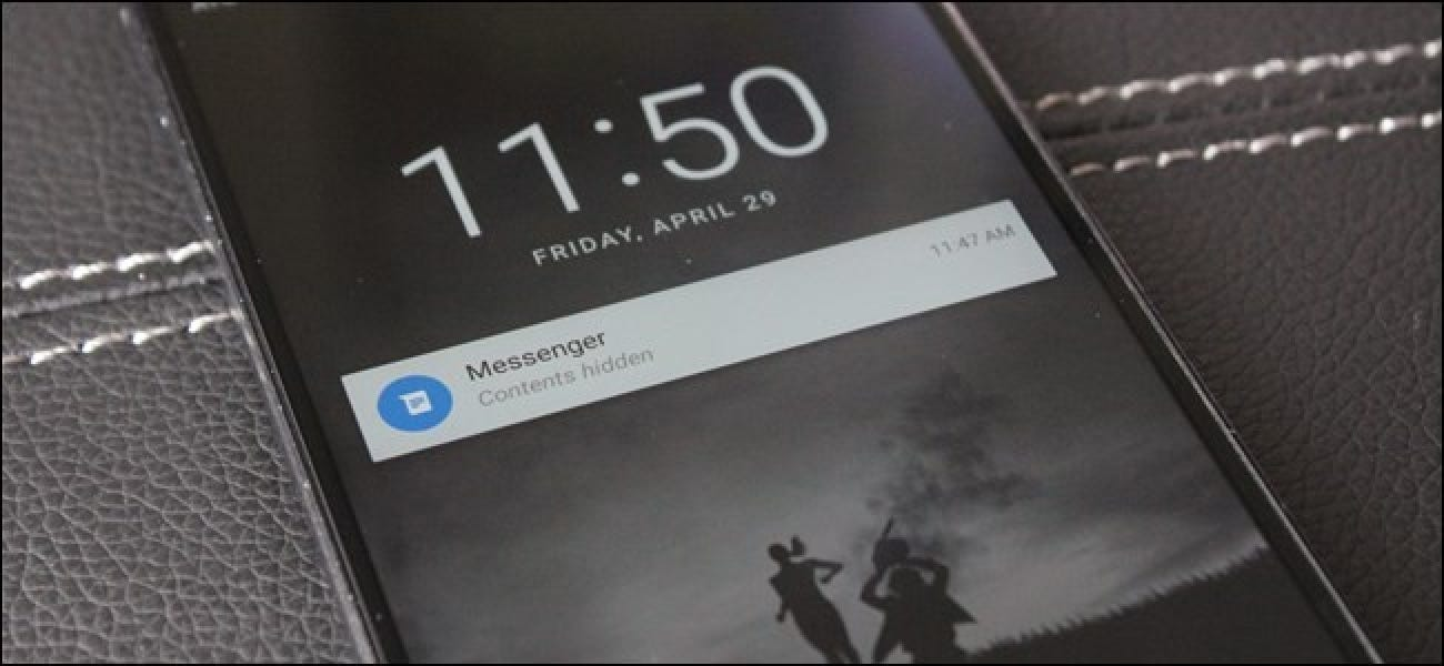 How to Hide Sensitive Notifications on Your Android Lock Screen