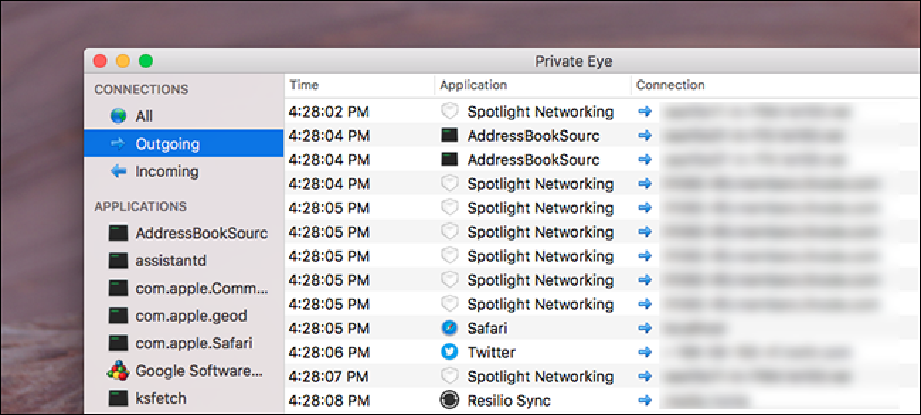 See All Your Mac's Network Traffic in Real Time With Private Eye