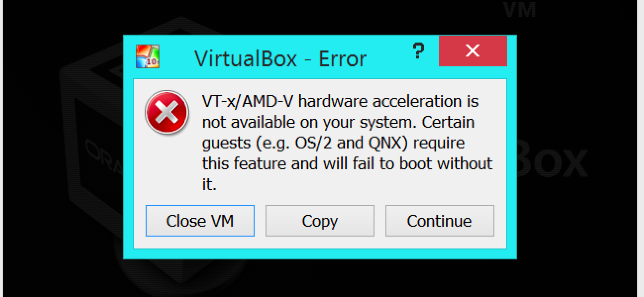 How to Enable Intel VT-x in Your Computer's BIOS or UEFI