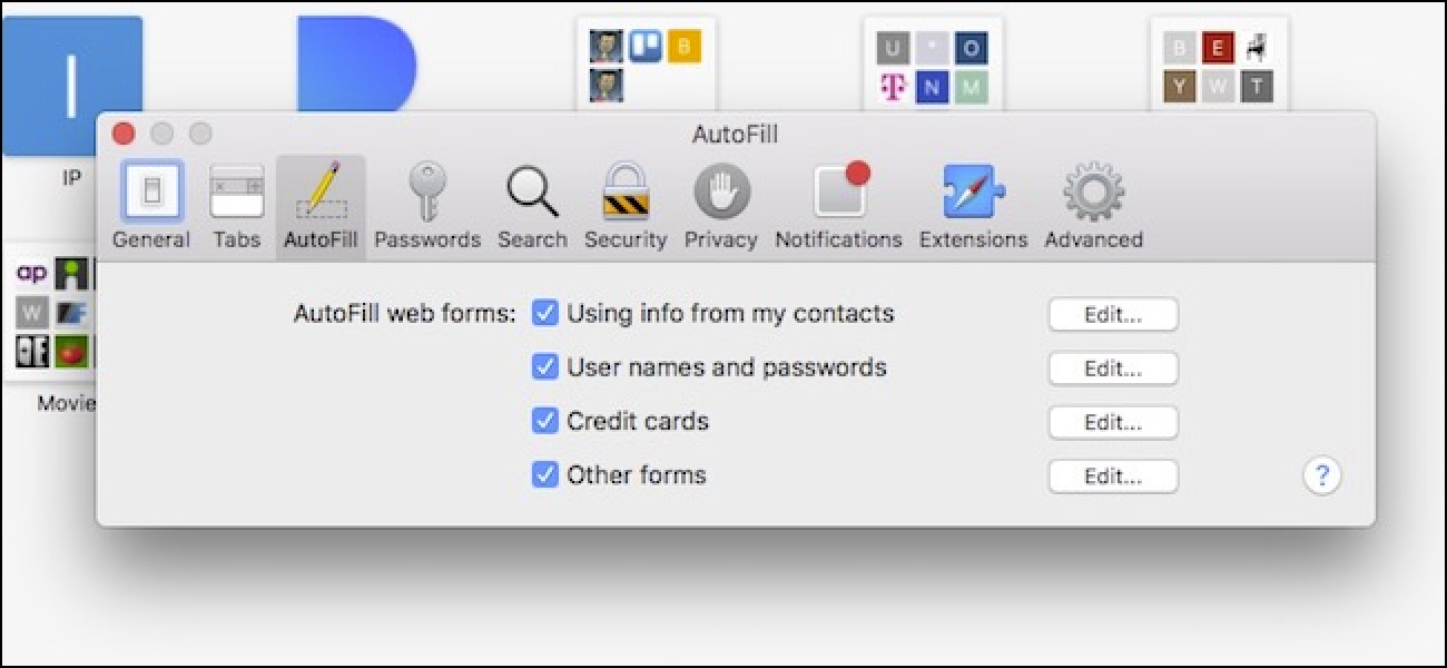 change autofill iphone how to disable and edit safari s autofill on macos and ios 1395