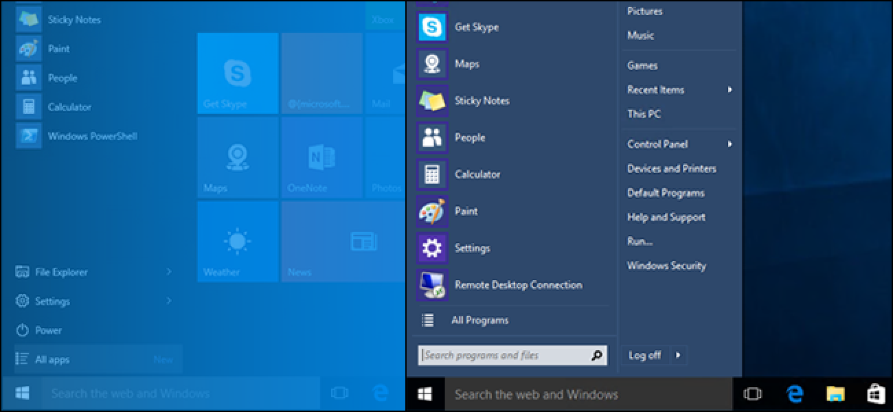 Bring The Windows 7 Start Menu to Windows 10 with Classic Shell