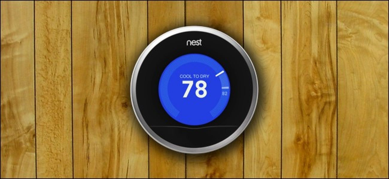 How To Use The Nest Thermostat To Cool Your House Based On