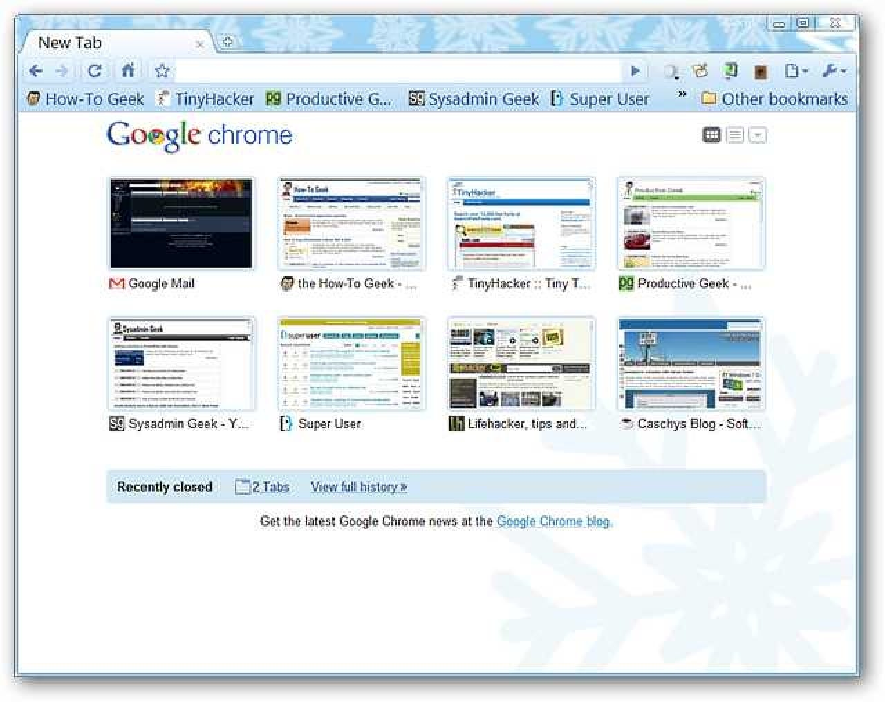 Turn Chrome's New Tab Page Into A Google Tasks Page