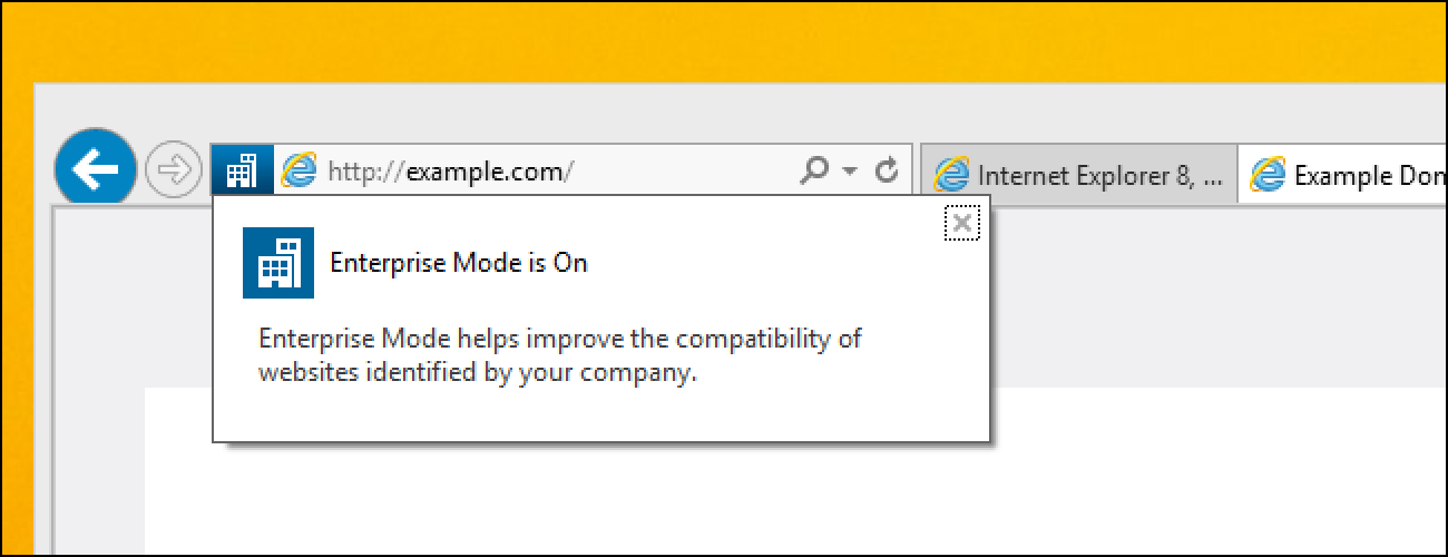 How to Enable and Use Internet Explorer 11 s Enterprise Mode cb05a0a2222